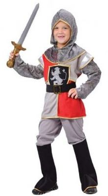 Boys Medieval Knight Fancy Dress Costume